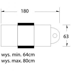 Stôl na manikúru BIELY