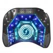 Profesionálna 2v1 uv led lampa + ccfl 48w časovač + strieborný senzor